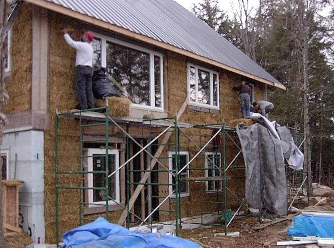 The Ecclestone home under construction