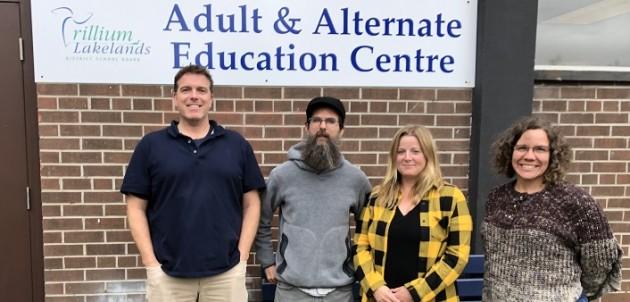 Huntsville AAEC staff (from left) Jim Lawrence, Joshua McCormick, Karen Blair and Kim Fairhall