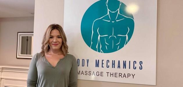 Emma Locke-Branch is the proud owner of Body Mechanics