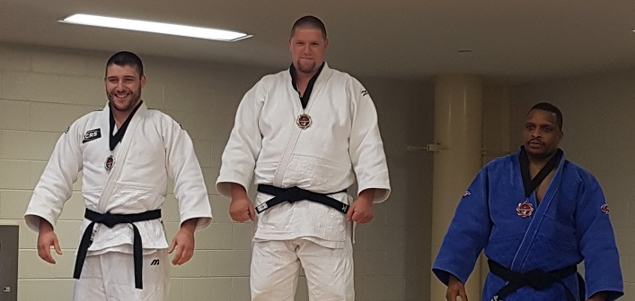 Jeff Allen took the top of the podium at the 2019 Eastern Canadian Judo Championships (Crystal Allen)