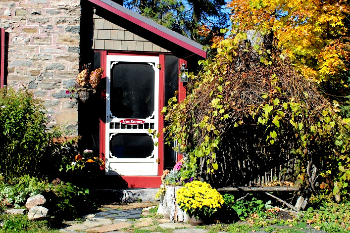 Guests at Morgan House Bed and Breakfast have their own entrance to the historical home