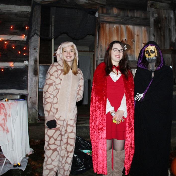 (From left) Kelsey's Jenna Martinson, Sam Fricker and Cora Fuciarelli