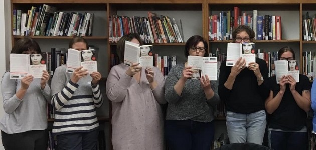 Some of the participants in the HHS Parent Book Study (Jen Rosewarne)