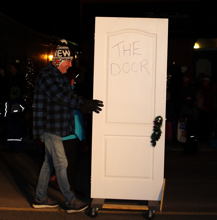 The Door gets tongue-in-cheek to introduce their float