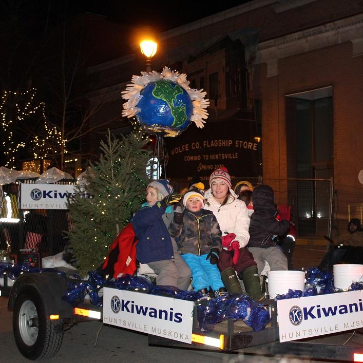 The Kiwanis Club of Huntsville Muskoka thinks the world of kids