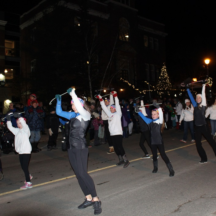 The Dance Project brought their winter spirit to the parade