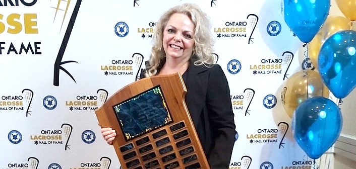 Shelly Nobile received the OLA's 2019 Merv MacKenzie Award (Sonya Crossey)
