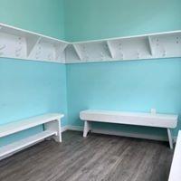 The JJ Dance change room (supplied)