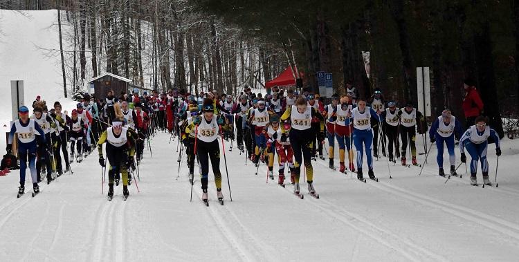 15km Women start (Cheyenne Wood)