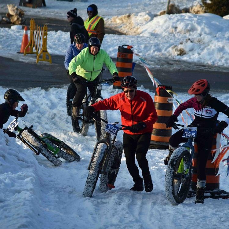 The Muskoka Fatbike Race course wasn't as easy as it looked (Cheyenne Wood)