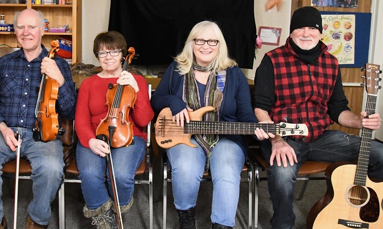(From left) Tom Hutchinson, Arlene McLean, Lisa Duffield, and John Ferguson (Douglas McLean)