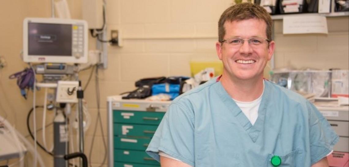 Dr. John Simpson, director & chief of Emergency Medicine at MAHC (huntsvillehospitalfoundation.ca)