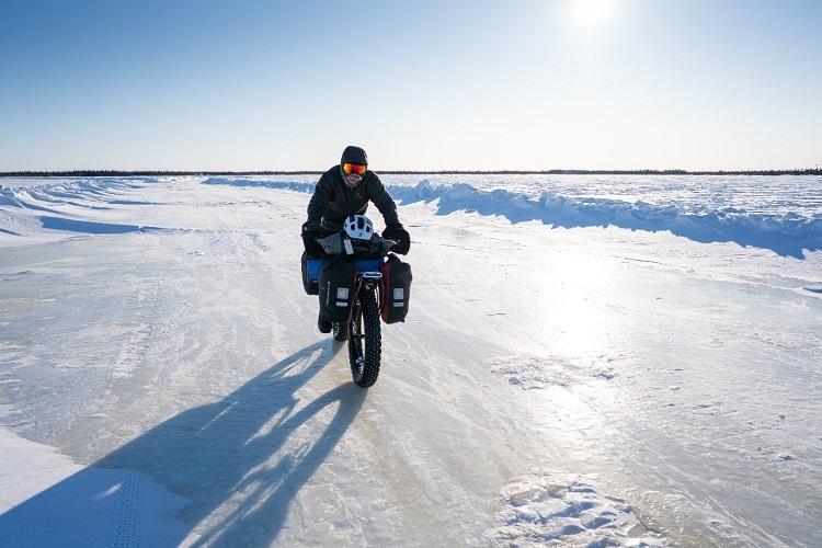 Buck Miller on the Wapusk Trail (Eric Batty)