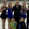 Huntsville Skating Club competitors at Nickel Blades on Ice in Feb. 2020 (supplied)