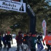 The 5k start at the inaugural Muskoka Snowshoe Races (Brenda Liddle)