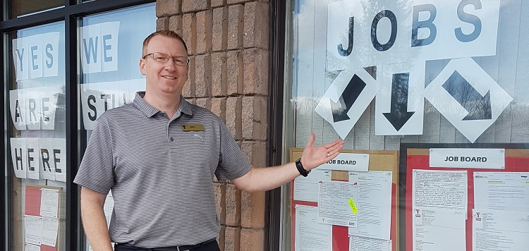 Brent McIntosh, YMCA job developer (supplied)