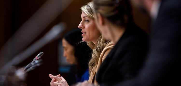 Minister of Economic Development and Official Languages, Mélanie Joly (supplied)