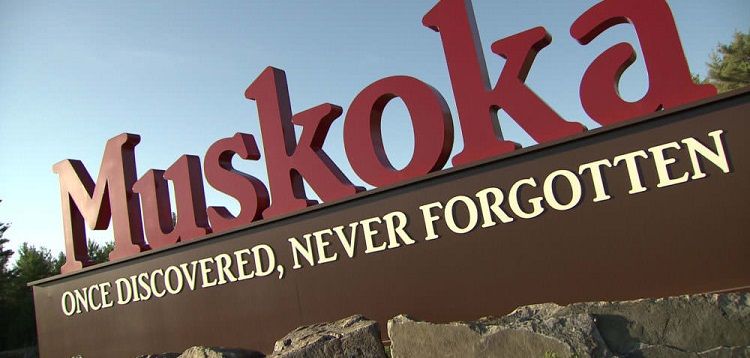 Muskoka sign (Photo: Muskoka Tourism)