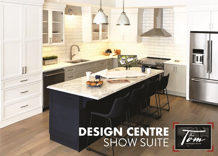 Visit The Tom design centre to see what the interior of the new condos will be like.