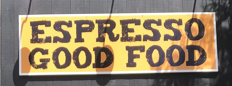 Look for the food co-op's new sign on Main Street across from Town Hall (Sydney Allan)
