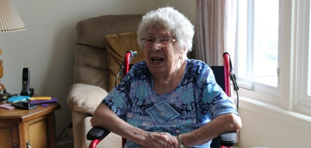 Blanche Guest turned 104 on August 24