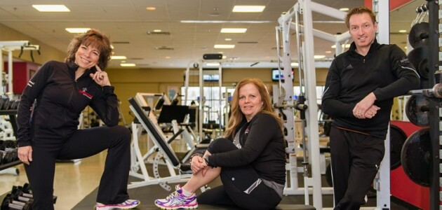 Motivations Fitness owners Lorraine vanLuit, Kym Bice, and Mark O'Dell (Motivations Fitness / Facebook)