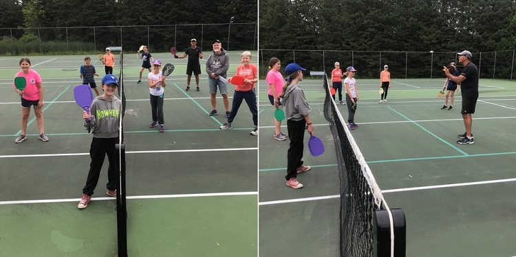 Pickleball is fun for kids...