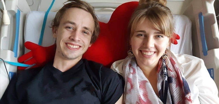 Aaron Hart (left) and Jenna White (supplied)
