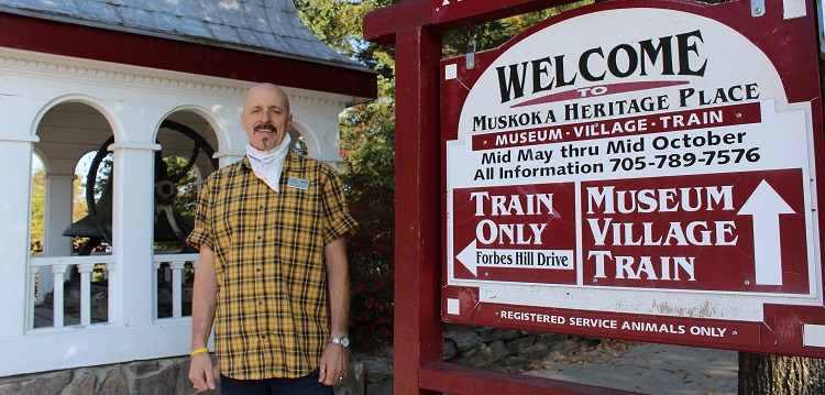 Ron Gostlin, MHP manager, is thrilled with the attraction's latest award (Dawn Huddlestone)
