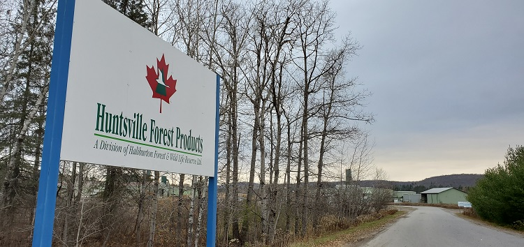Huntsville Forest Products is a subsidiary of Haliburton Forest and Wild Life Reserve (Dawn Huddlestone)