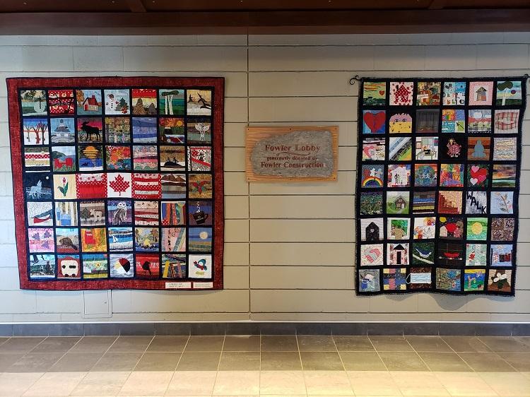 Huntsville COVID isolation quilt
