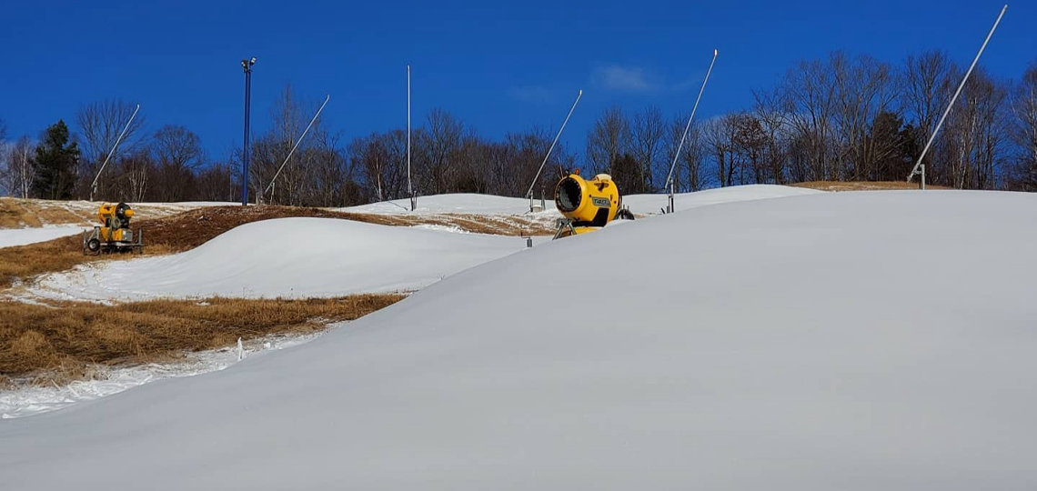 HVHSA began making snow in November (supplied)