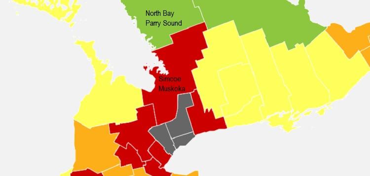 Ontario's COVID-19 zones effective Dec. 14, 2020 (ontario.ca)