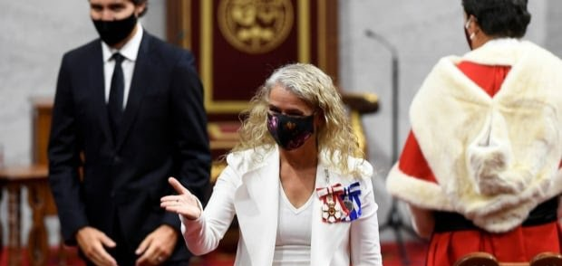 Former Governor General Julie Payette in Ottawa on Sept. 23, 2020 (Adrian Wyld/The Canadian Press)