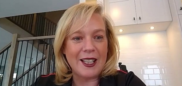 Minister Lisa MacLeod talks about Ontario 55+ Winter Games Legacy funding via Zoom