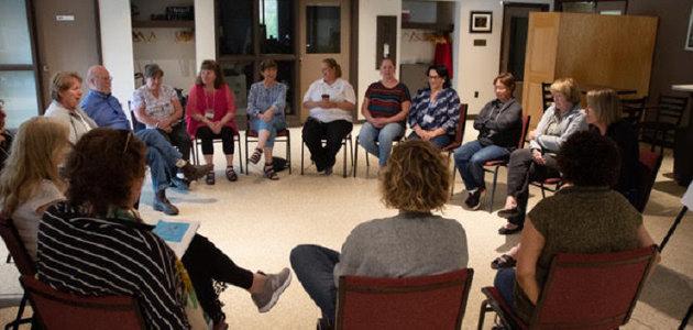 A Muskoka Circles meeting (supplied)
