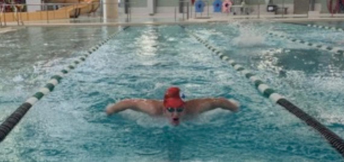 Aidan Spiers training with MUSAC at the Bracebridge Sportsplex prior to the lockdown (supplied)