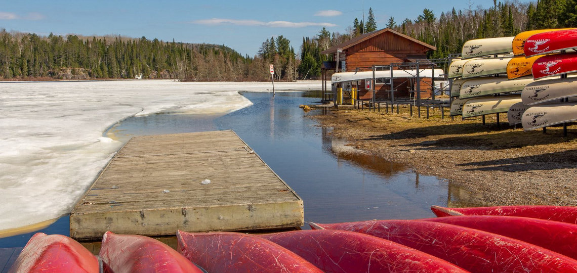 Lake Opeongo in 2019 (supplied)