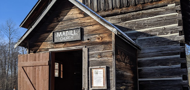 The historic Madill Church will undergo much-needed repairs starting in 2022 (Photo courtesy of Madill Church Preservation Society)